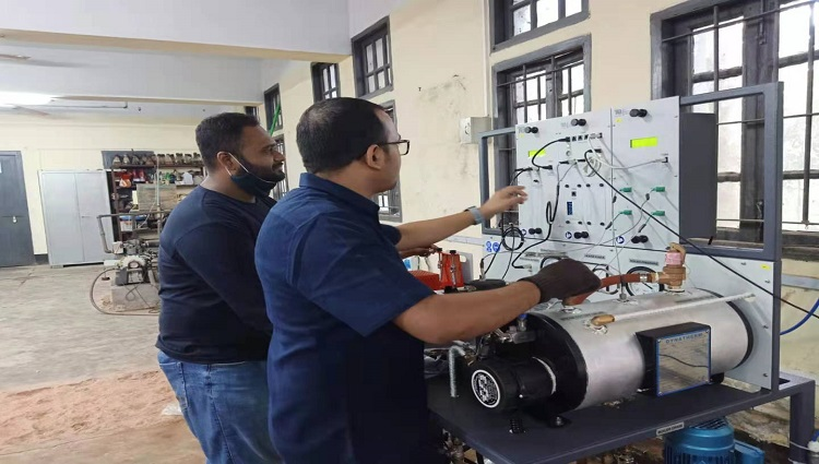 ATCL installs a TQ Branded Thermal Power Plant with Steam Engine Trainer at CUET ME Department